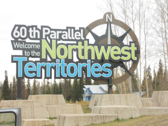 60th parallel, NWT