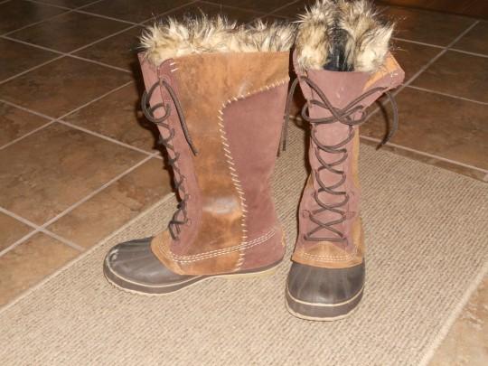 Aurora borealis - boots
