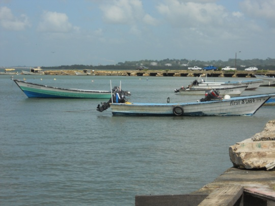 Fishing boats in San Fernando