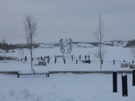 Frozen Frame Lake
