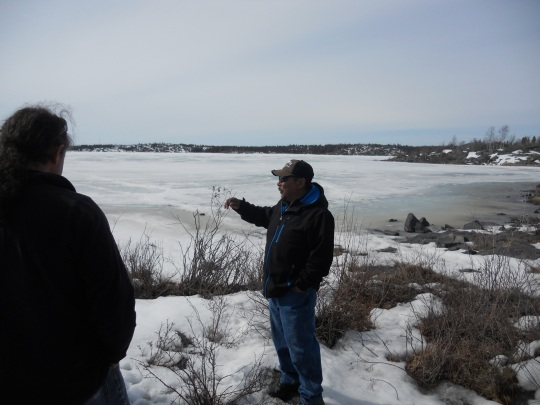 Yellowknife traditional nature tour