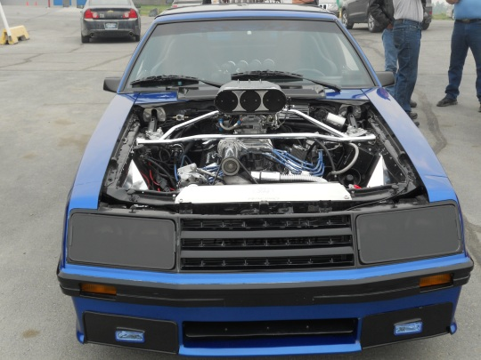 Turbo-charged car