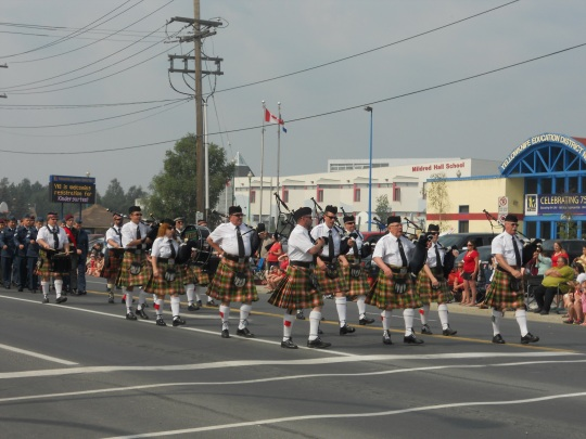 NWT Pipe Band