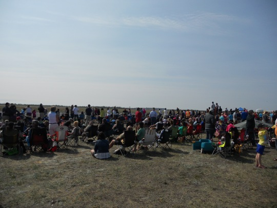 Yellowknife Airshow crowd