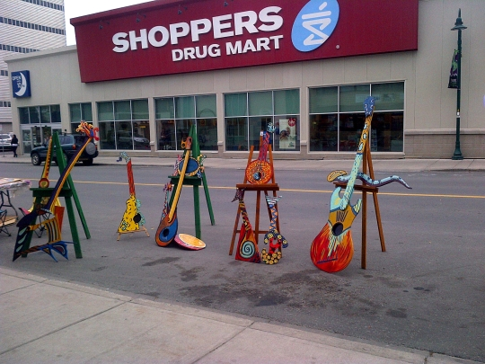 PARKing Day Yellowknife - Guitars