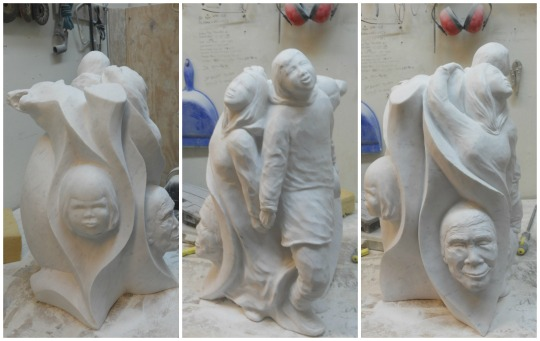 Frozen Rock Studio - marble carving