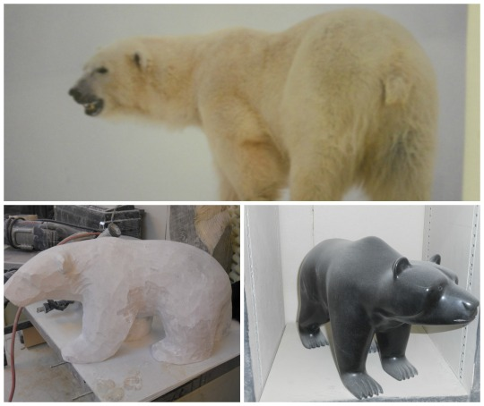 Frozen Rock Studio - Polar bear models