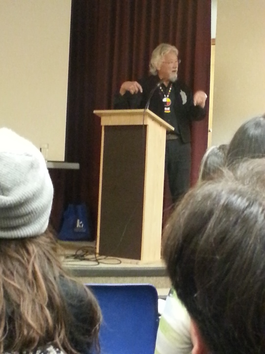David Suzuki Blue dot Tour Yellowknife
