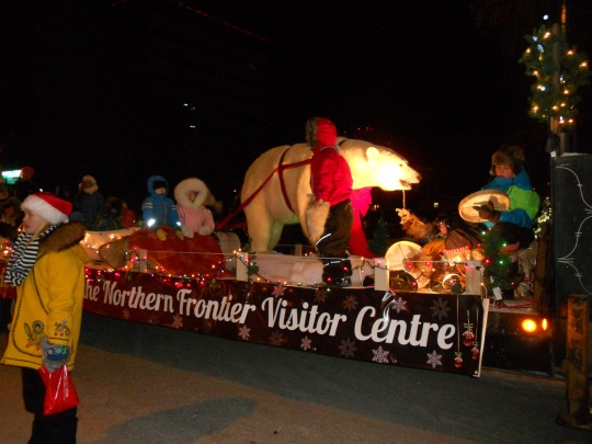 Northern Frontier Visitors Centre float