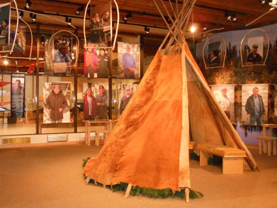 Thunder in Our Voices - exhibit in Yellowknife