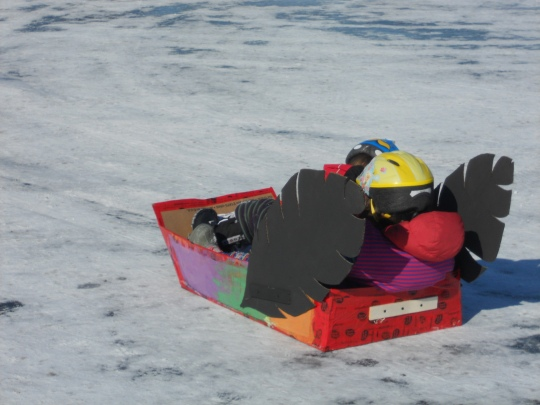 Sled with wings - Long John Jamboree