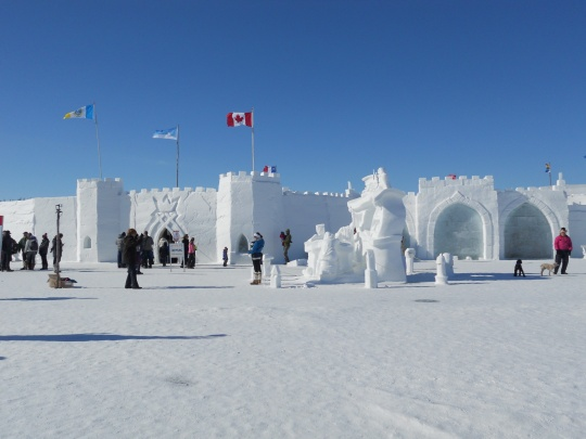Snow Castle Yellowknife 2015