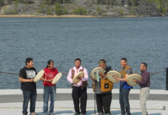 Yellowknives Dene First Nation Drummers