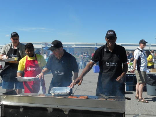 Miners Picnic - one of the barbecue crews