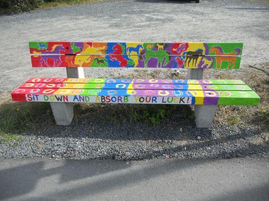 Lucky bench